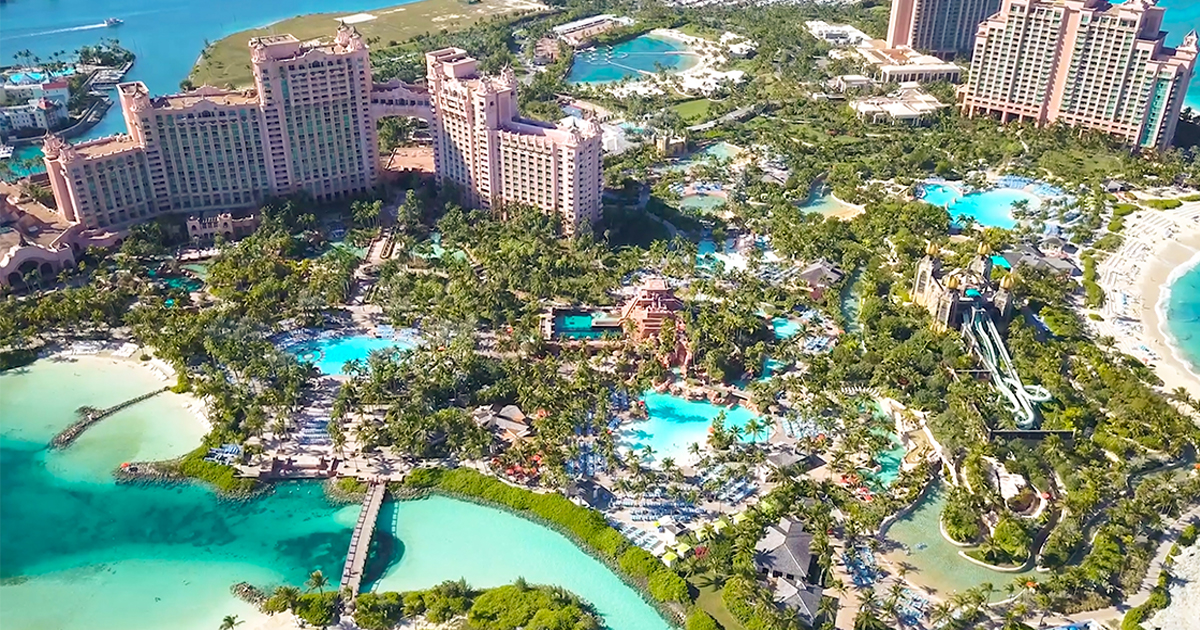 atlantis bahamas property map Interactive Map Of The Paradise Island Resort Casino atlantis bahamas property map